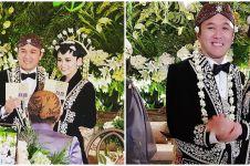 10 Momen nikah Adri Martowardjojo & Elsa, mewah dengan adat Jawa