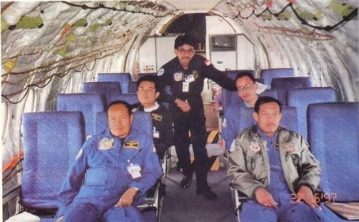 Captain Sumarwoto dok. pribadi keluarga