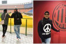 12 Momen Rezky Aditya & Citra Kirana ke markas AC Milan, seru