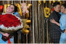 6 Momen ulang tahun Dewi Perssik, sederhana dan berkesan