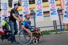 Suara difabel dari dalam stadion Si Jalak Harupat