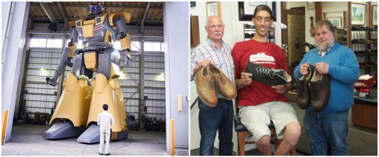 7 Daftar rekor dunia terbaru, ada robot 'Transformer'