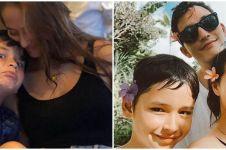 9 Potret kedekatan Janisaa Pradja & Kenzou Lewis, bak ibu kandung