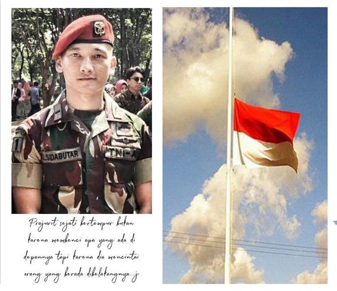 Perwira muda gugur di Papua, curhatan calon istri bikin sedih © 2019 berbagai sumber