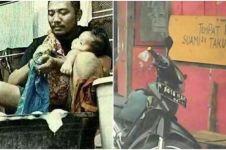 7 Foto lucu suami-suami takut istri, pengen ketawa tapi kasihan