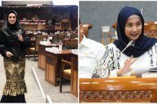 Gaya 7 seleb saat ngantor di DPR, Mulan Jameela jadi sorotan