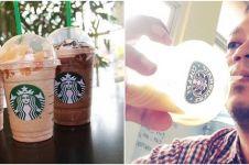 7 Tutorial nyeleneh minum Starbucks ala sobat misqueen, kocak pol