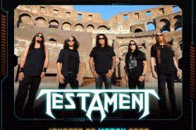 3 Fakta terkini Hammersonic 2020, Testament resmi masuk line up musisi