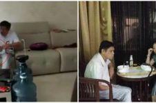 Detik-detik penangkapan istri aniaya suami yang sakit stroke