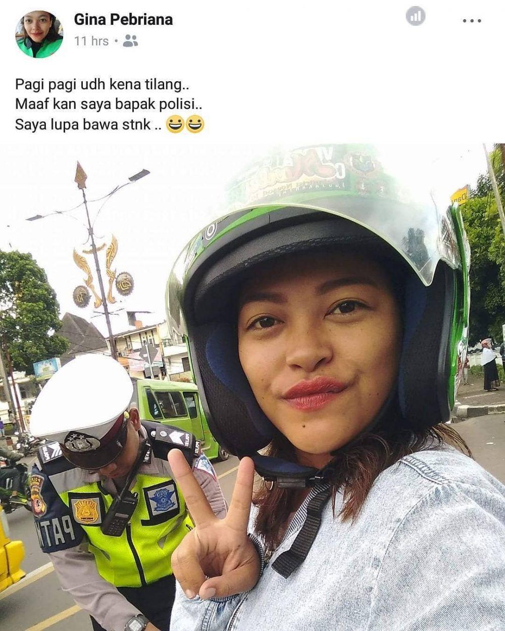 curhat driver ojek online ditilang © berbagai sumber