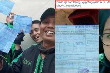 7 Curhat driver ojek online saat ditilang, ekspresinya kocak