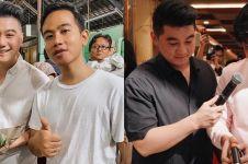 8 Potret persahabatan Chef Arnold, Gibran & Kaesang, klop abis