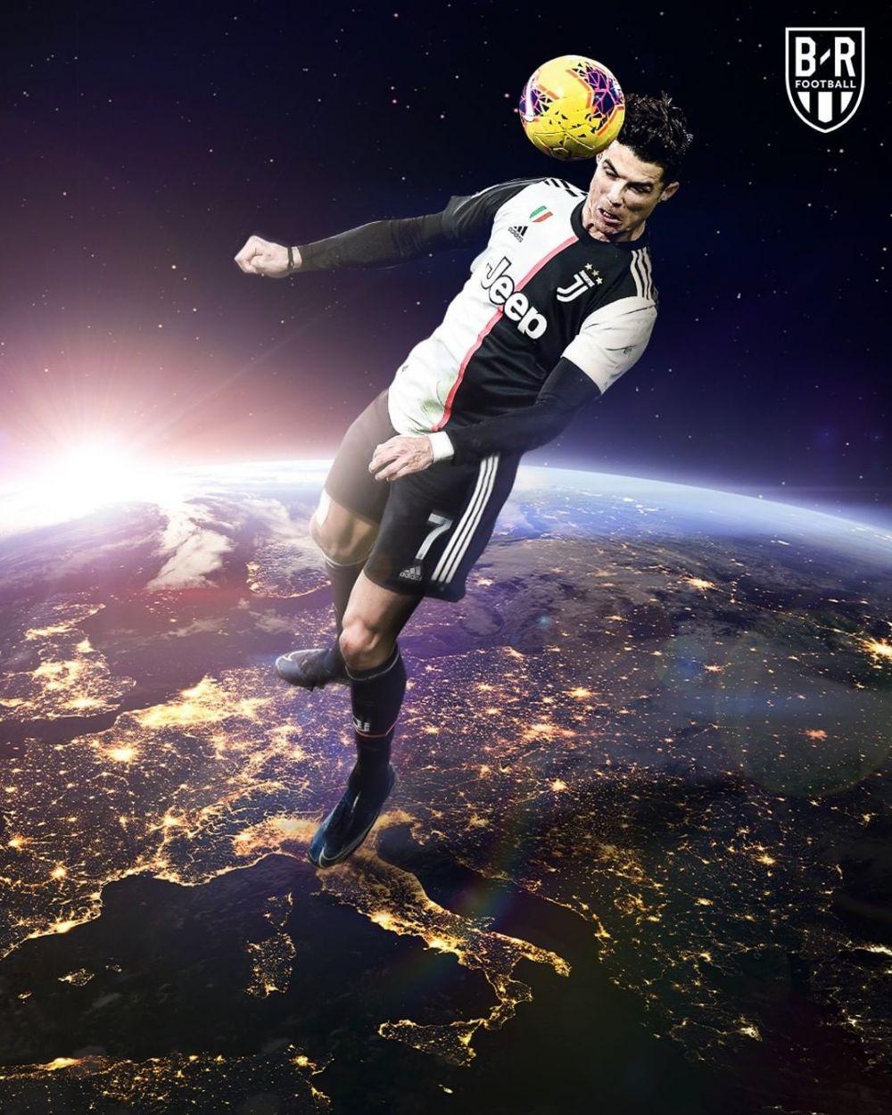 meme lucu lompatan fantastis ronaldo © berbagai sumber