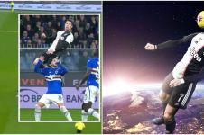 7 Meme lucu lompatan fantastis Cristiano Ronaldo, kocak abis