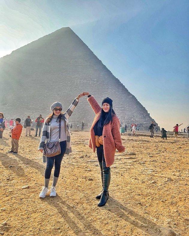 7 Potret liburan Felicya Angelista di Mesir, impian jadi nyata © 2019 instagram.com