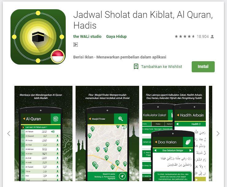 Aplikasi pencarian arah kiblat akurat untuk Android & iOS Istimewa