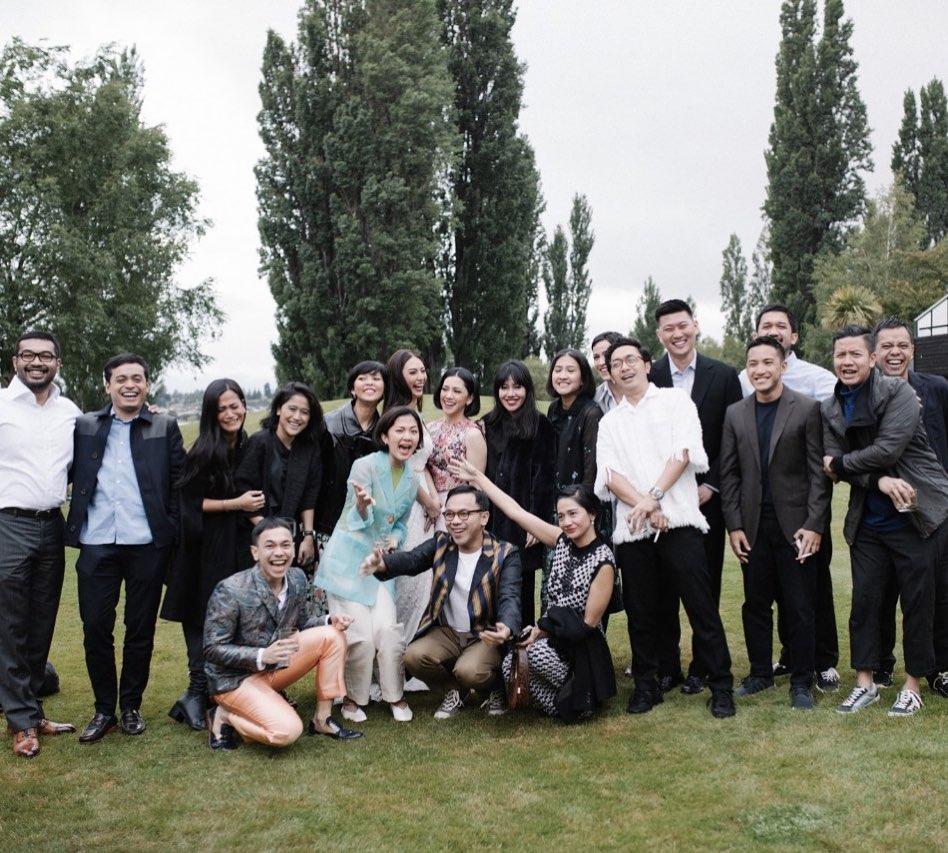 Nadia Saphira di Selandia Baru  Instagram