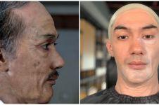 8 Transformasi makeup Reza Rahadian jadi BJ Habibie, mirip banget