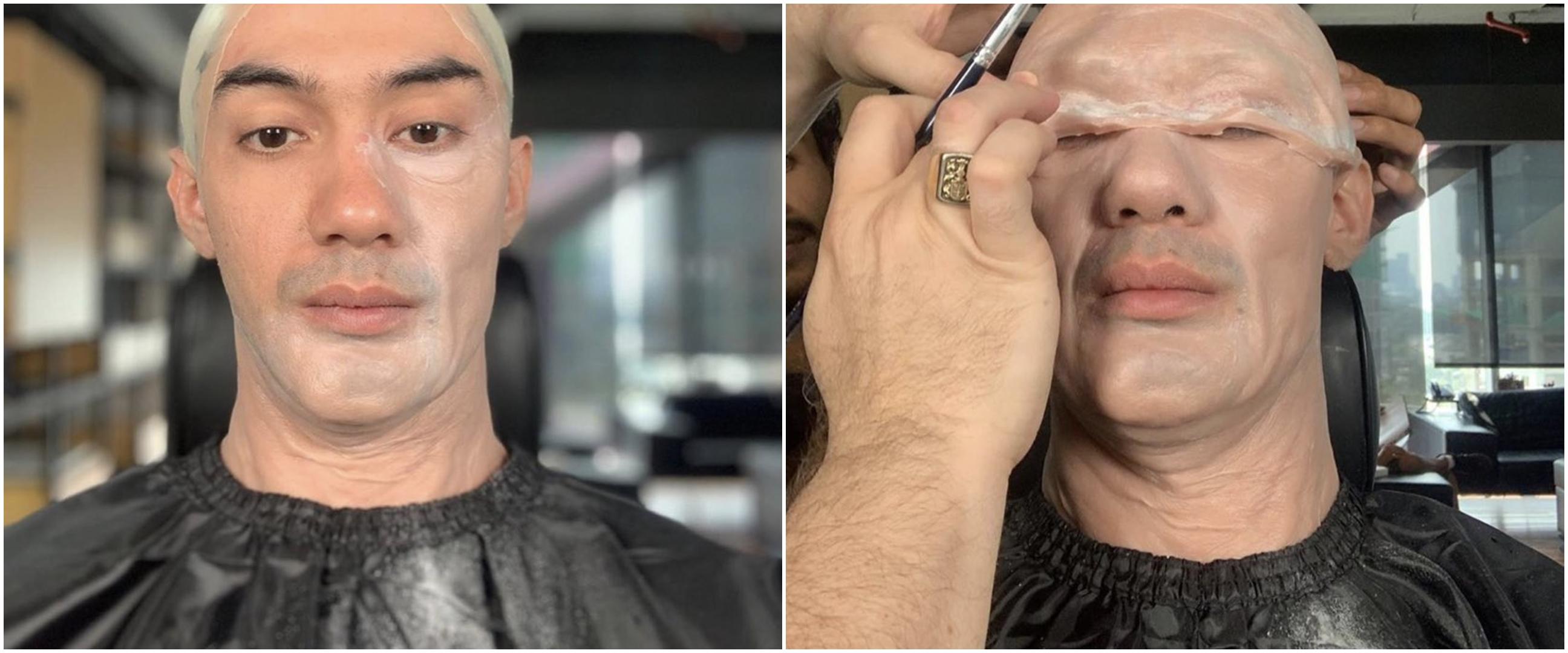8 Pelesetan makeup Reza Rahadian ini endingnya kocak