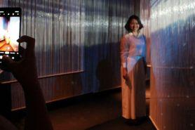 Festival seni berbalut teknologi ini sukses pukau pengunjung