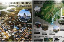 Ini detail konsep ibu kota baru di Penajam, keren banget