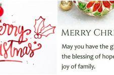 40 Kata-kata ucapan Natal 2019, terbaik & penuh makna