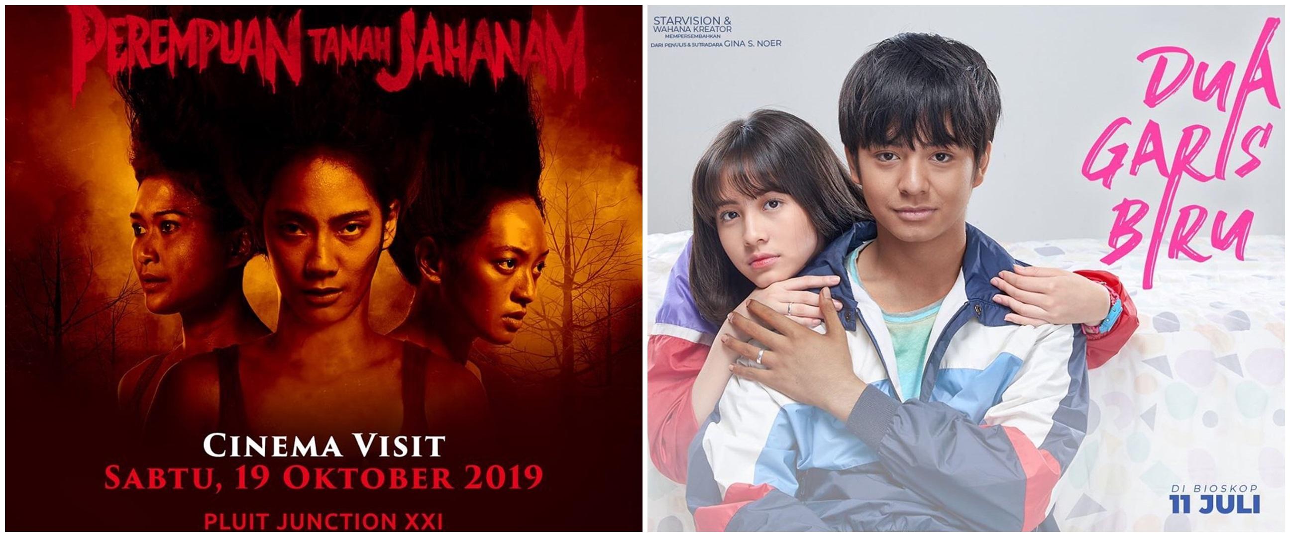 10 Film Indonesia 2019 dengan jumlah penonton terbanyak