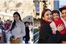 Potret 7 seleb rayakan Natal 2019 di luar negeri, ada ke Jerusalem