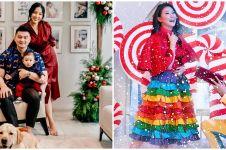 8 Gaya pemotretan seleb tema Natal 2019, penuh kehangatan