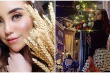 6 Potret Salmafina Sunan rayakan Natal di Amerika Serikat