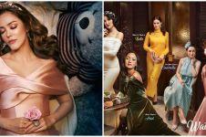 Rayakan Natal, 5 seleb ini tampil beda tirukan Putri Disney