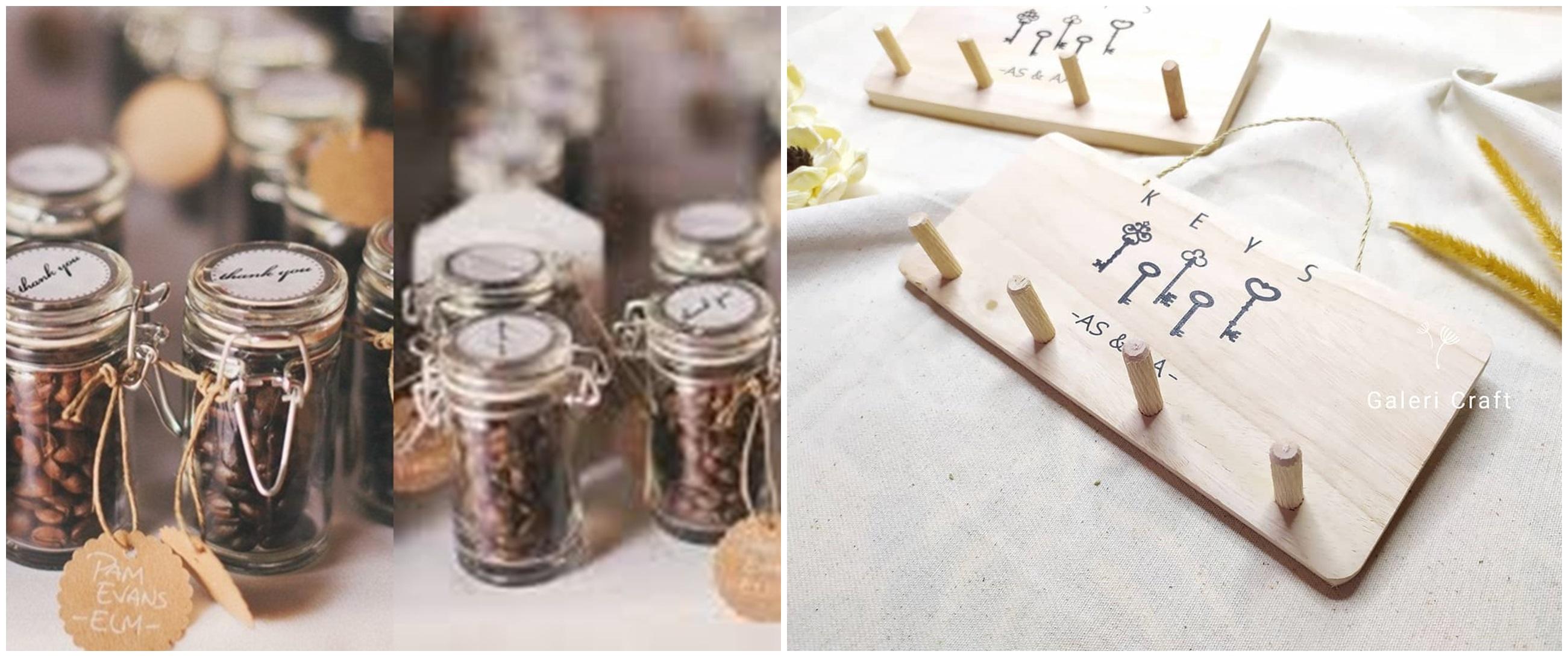 10 Souvenir pernikahan unik dan berkesan