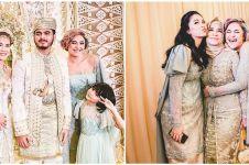 10 Momen pernikahan adik Marshanda, gayanya curi perhatian