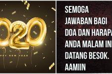 40 Kata-kata mutiara Tahun Baru 2020, harapan & doa terbaik