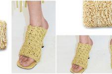 Desain sandal mirip mi instan dapat cibiran, harganya fantastis