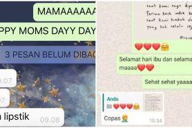 10 Chat WA lucu ibu dan anak ini bikin tepuk jidat