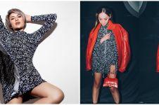 6 Momen Bunga Citra Lestari kembar baju dengan artis lain