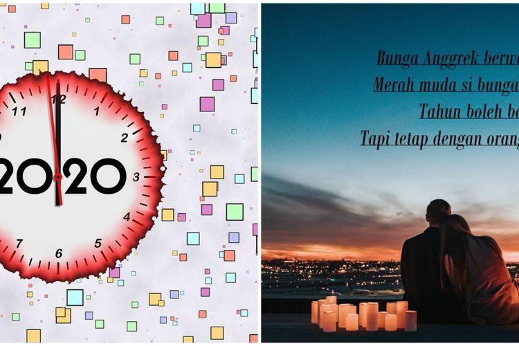 25 Pantun Ucapan Selamat Tahun Baru 2020 Lucu Dan Menghibur