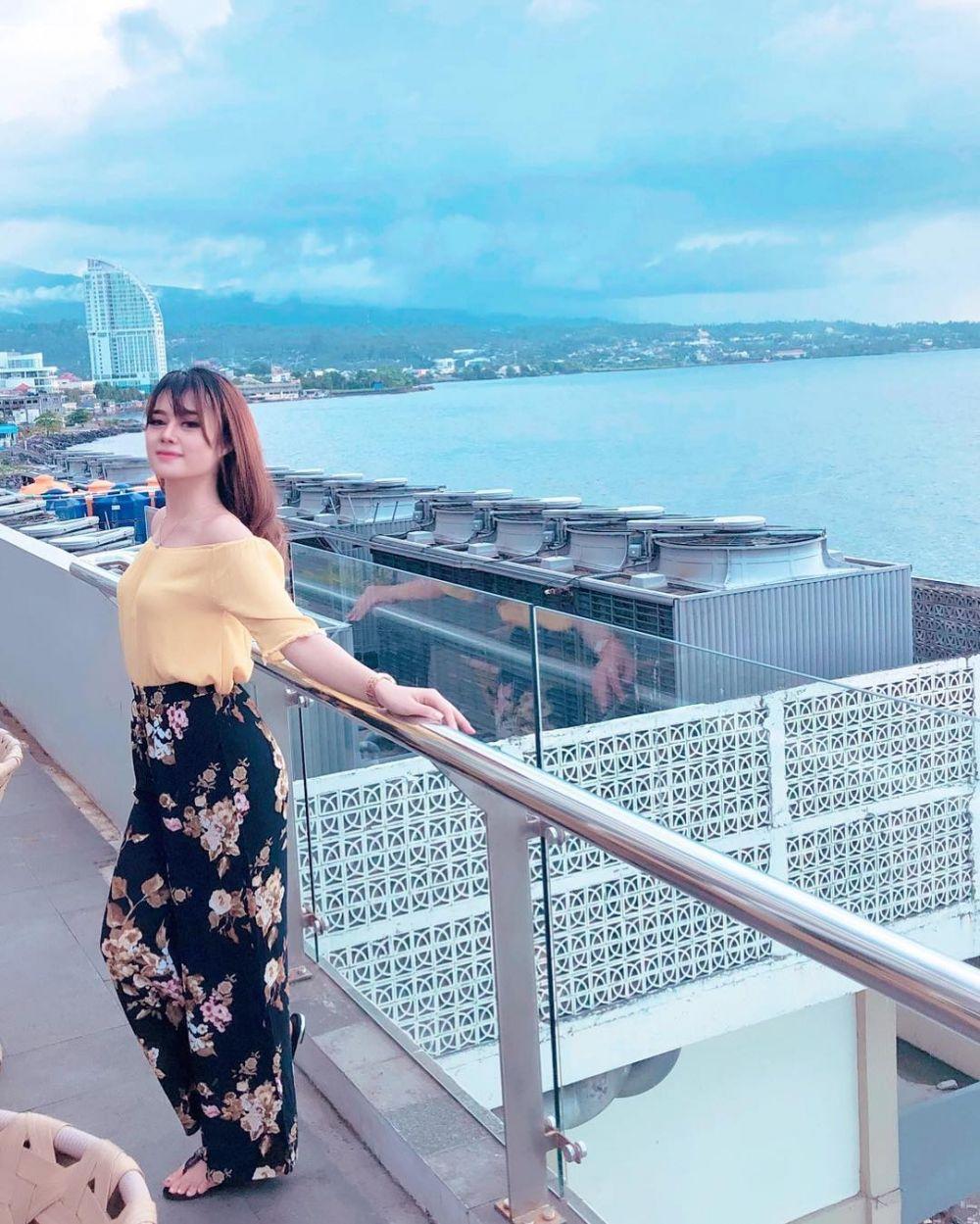 Rika istri mantan Zaskia  Instagram