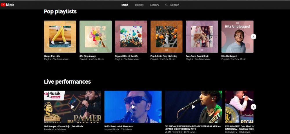 Perbedaan Spotify dan YouTube Music © 2019 brilio.net