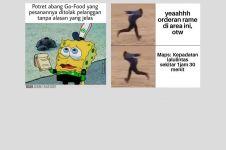 10 Meme lucu suka duka jadi driver ojek online