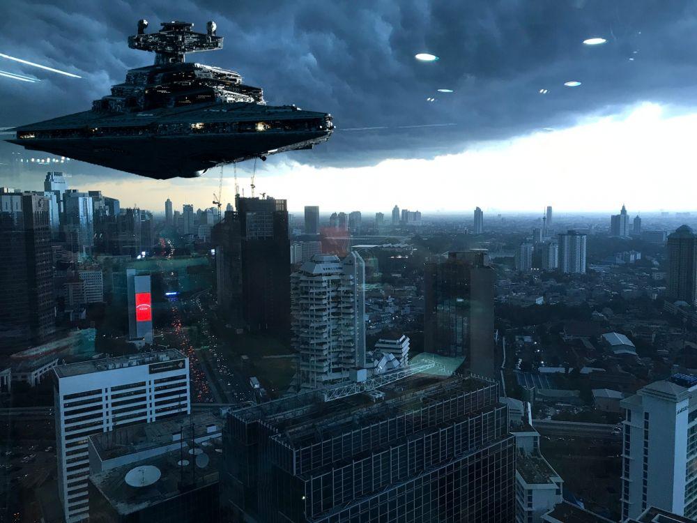 10 editan langit gelap Jakarta © 2019 brilio.net