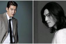 7 Pesona Kim Woo-bin comeback berambut gondrong, bikin pangling