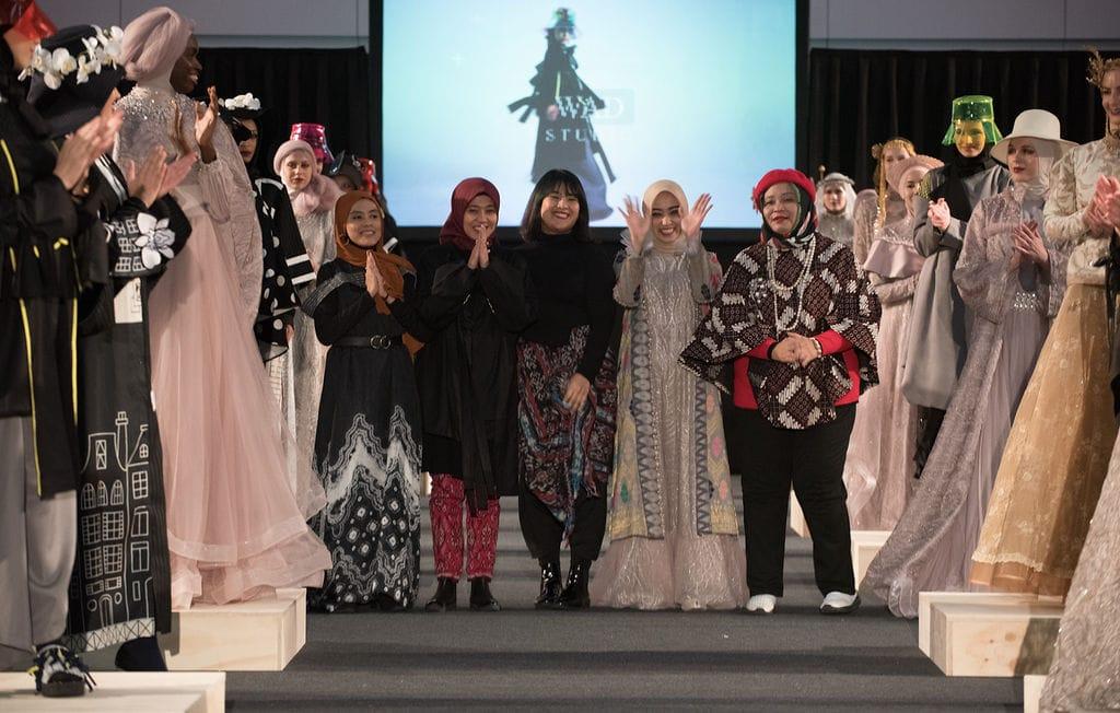 Potret 3 desainer Indonesia di Amsterdam Modest Fashion Week