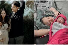 8 Momen Adzana Bing Slamet lahirkan anak pertama pada tahun baru