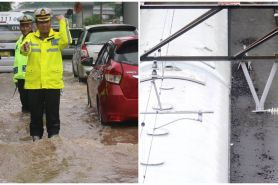 Banjir Jakarta, ini 11 potret pusat sarana transportasi lumpuh