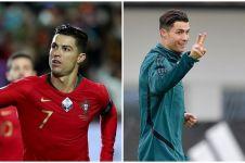 10 Gaya rambut Cristiano Ronaldo curi perhatian, terbaru berkuncir