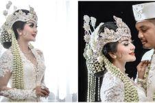 10 Momen pernikahan Gina Duo Racun, penampilannya curi perhatian