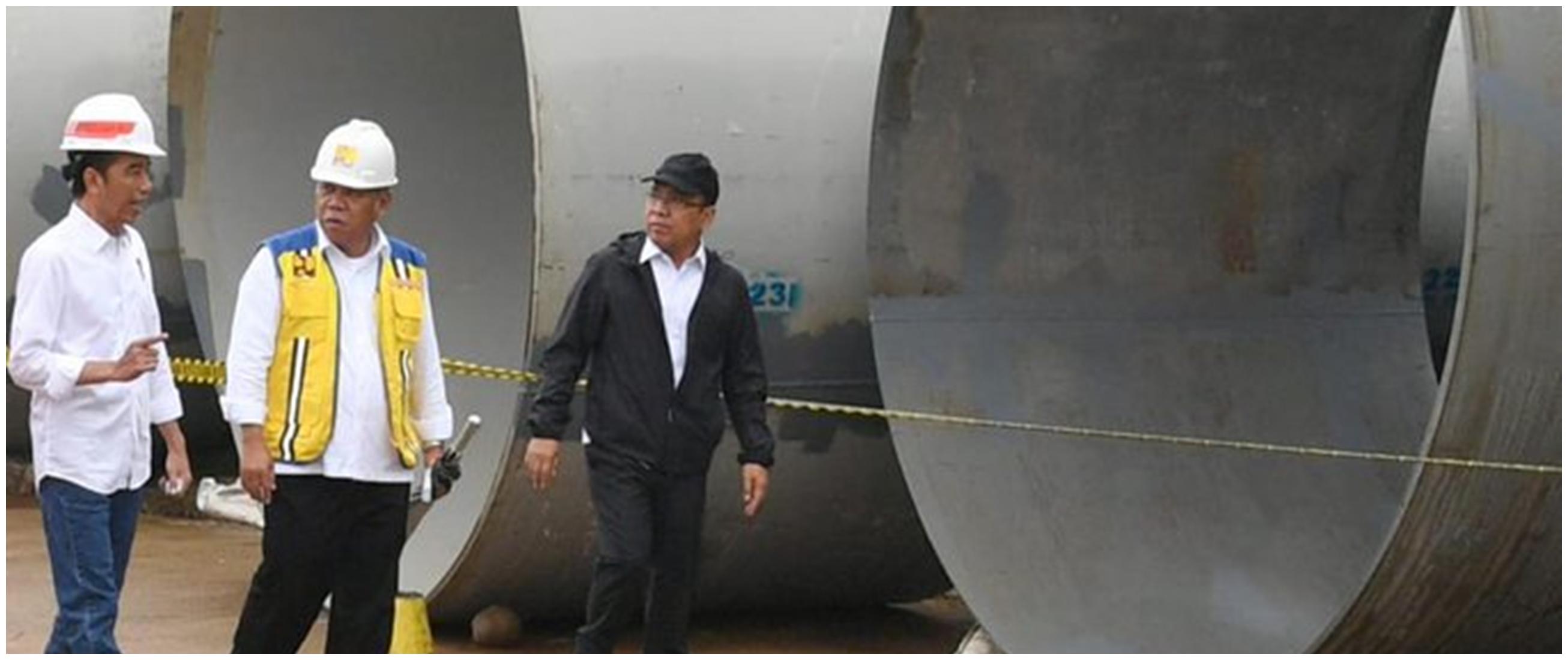 Ini penjelasan Jokowi kenapa Jakarta terjadi banjir hebat