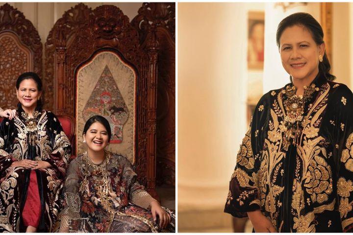 7 Gaya pemotretan Iriana Jokowi & keluarga, bak royal family